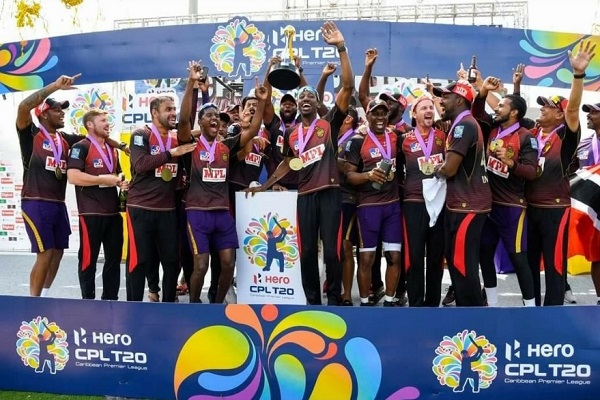 All-time favourite CPL team Trinbago Knight Riders (4th title)